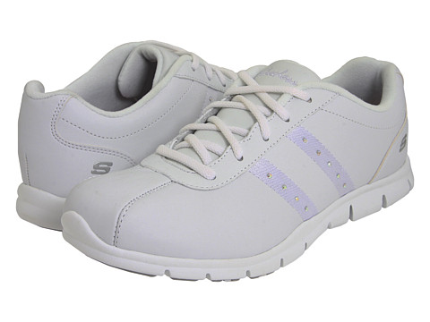 Adidasi SKECHERS - Intention - White
