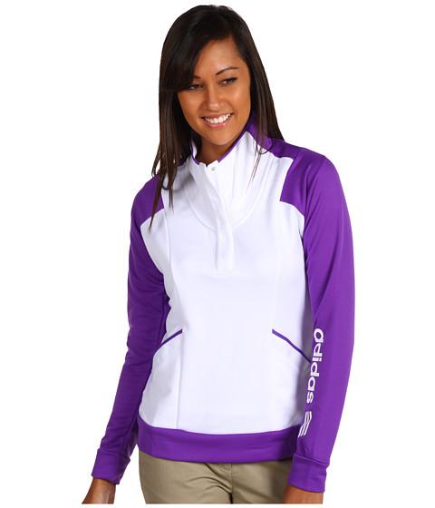 Bluze adidas Golf - Fashion Performance Color Block Pullover - White/Purple