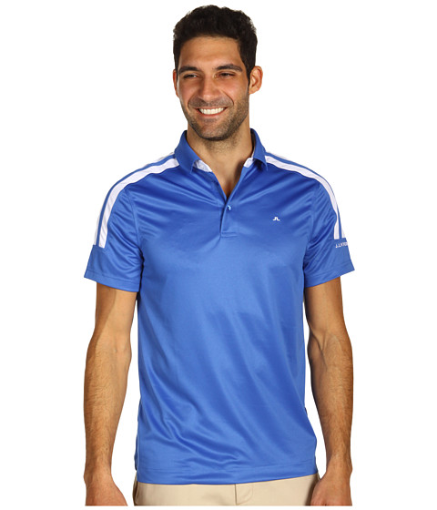 Tricouri J. Lindeberg - Lyon - Regular Fit Fieldsensor 2.0 Polo Shirt \\\'12 - Blue