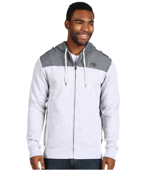 Bluze Billabong - Mercenary Zip Hoodie - Grey Heather