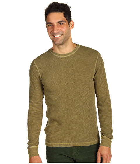 Bluze Lucky Brand - Lived-In Thermal - Lakewood Olive