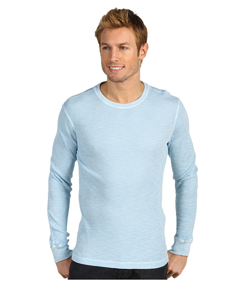 Bluze Lucky Brand - Lived-In Thermal - Dream Blue