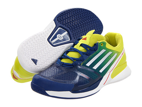 Adidasi adidas - adizeroâ⢠Feather II - Dark Blue/Running White/Lab Lime