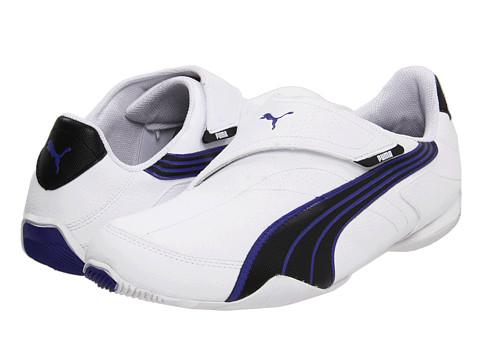 Adidasi PUMA - Jiyu V NU - MMA - White/Black/Spectrum Blue