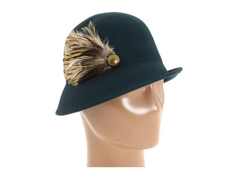 Palarii Jessica Simpson - Feathered Cloche 12 - Deep Lake Teal