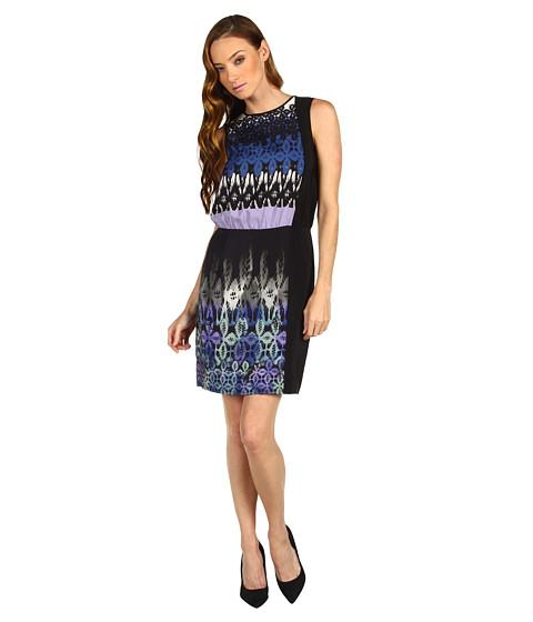 Rochii Tibi - Jude Sleeveless Dress - Lavender Multi
