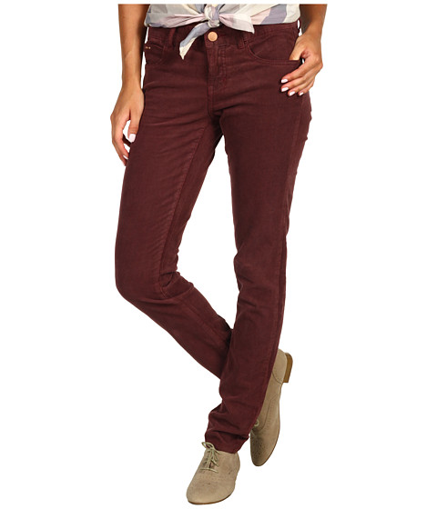 Pantaloni Billabong - Cord Pixie Corduroy Pant (Juniors) - Merlot