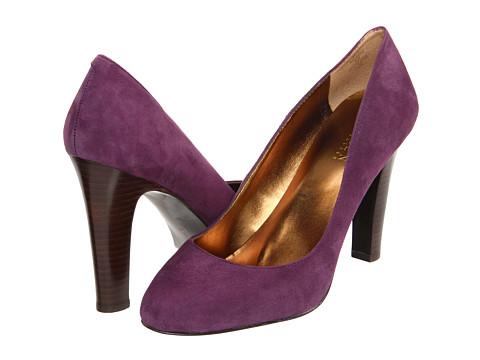 Pantofi LAUREN Ralph Lauren - Rylie - New Purple Suede