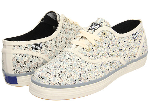 Balerini Keds - Champion Puddle Jumper - Cream Floral