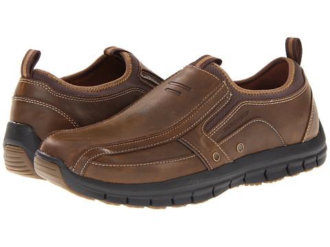 Adidasi SKECHERS - Masen - Dark Brown