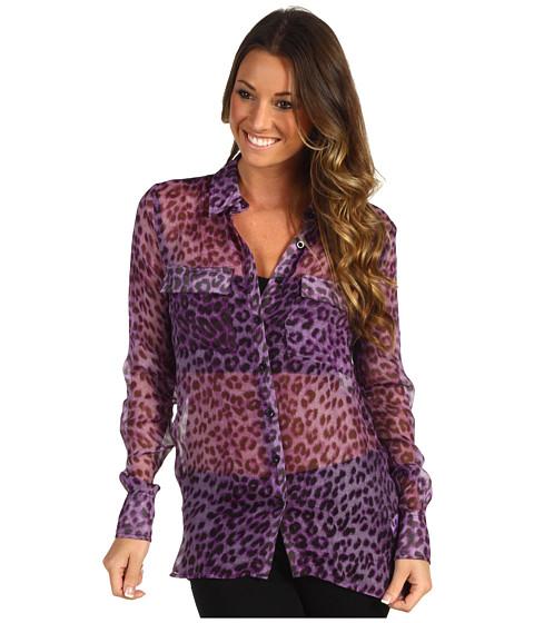 Bluze rsvp - Eddielynn Blouse - Purple Print