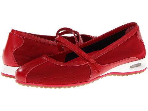 Balerini Cole Haan - Air Bria Mary Jane - Red Mesh/Tango Red Patent