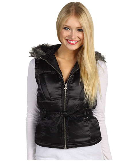 Jachete Christin Michaels - Coriann Puffer Vest - Black
