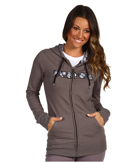 Bluze Burton - Women\\\'s Gravity Full-Zip Snowboarding Hoodie - Heather Heathers