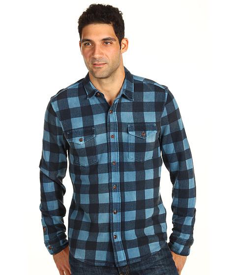 Bluze Lucky Brand - Buffalo Plaid Shirt - Ravenwood