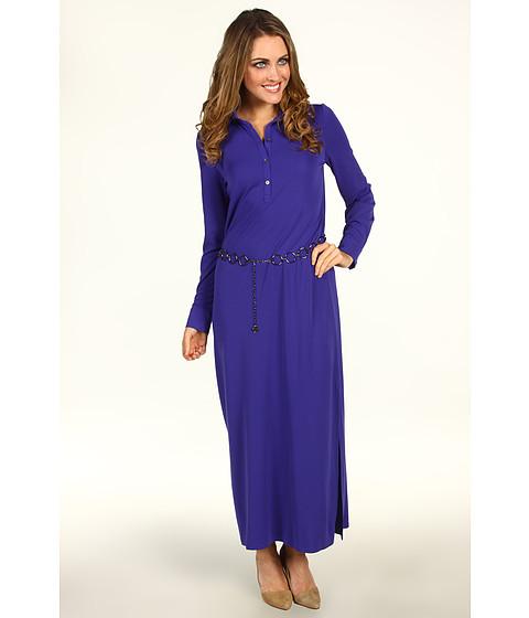 Rochii Anne Klein - L/S Maxi Dress - Violet