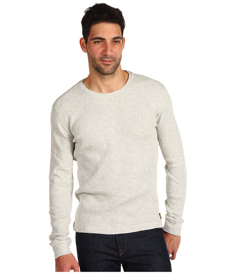Bluze Lucky Brand - Slub Thermal - Oatmeal