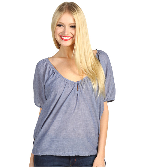 Tricouri Roxy - Ikat Honey S/S Top - Chambray