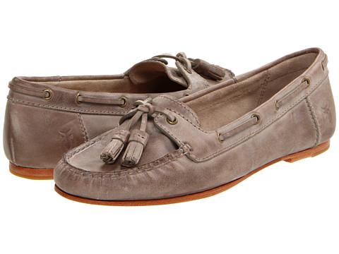 Balerini Frye - Wendy Tassel Moc - Taupe Burnished Antiqued Leather