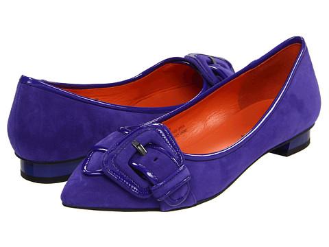 Balerini Via Spiga - Deandra - Violet Kid Suede/Violet Patent