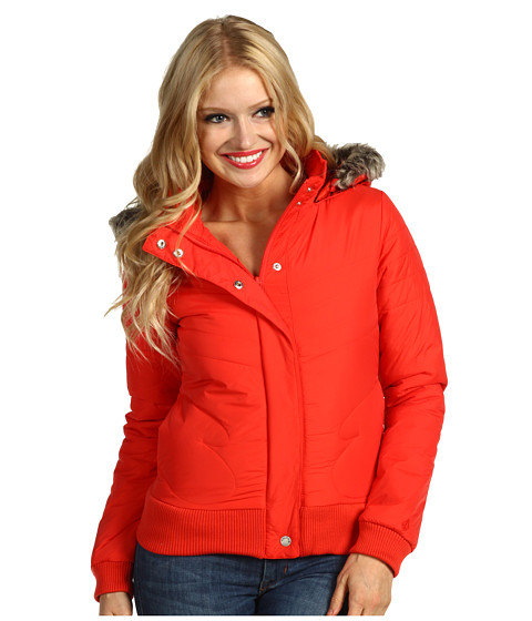 Jachete Volcom - Hot Mitts Puffer Jacket - Poppy Red
