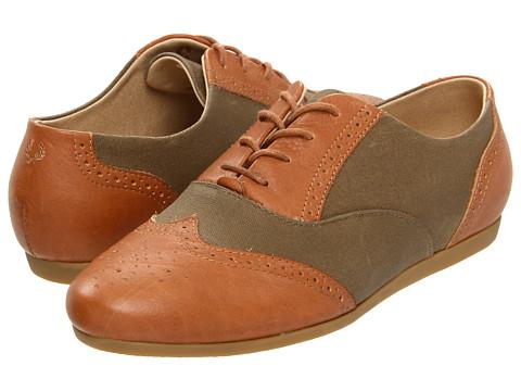 Pantofi Fred Perry - Garner Leather - Tan/Elmwood