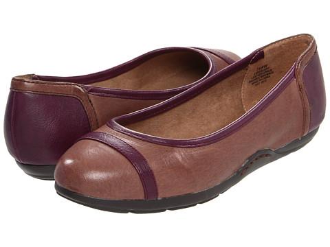 Balerini Easy Spirit - Percept - Dark Brown/Dark Purple Leather