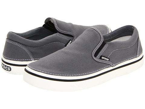 Pantofi Crocs - Hover Slip-On - Charcoal/White