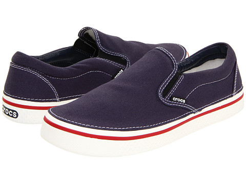 Pantofi Crocs - Hover Slip-On - Navy/White