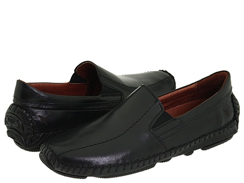Pantofi Pikolinos - Jerez Moccasin 09Z-5956 - Black Leather