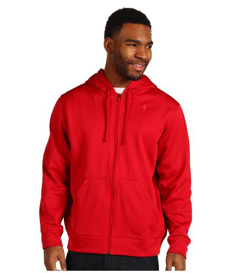 Bluze Nike - KO Full-Zip Hoodie 2.0 - Gym Red/Gym Red