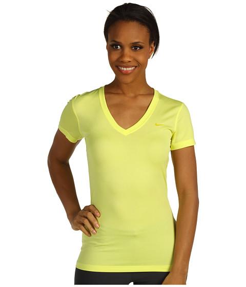 Tricouri Nike - Regular Legend S/S V-Neck - Electric Yellow/Vivid Sulfur