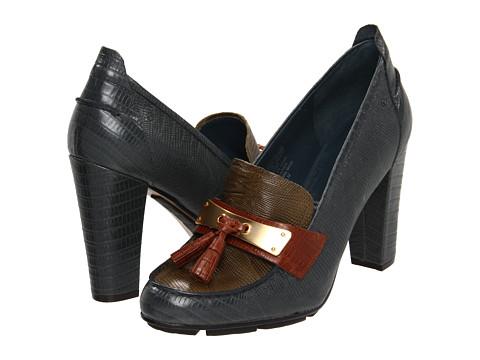 Pantofi Rockport - Jalicia Loafer Moc - Green/Brown/Blue