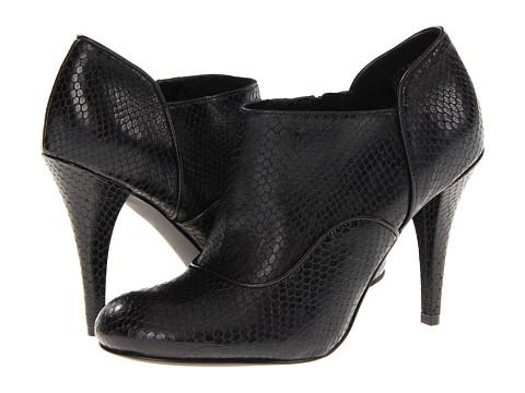 Pantofi Rockport - Presia Zip Shootie - Black Amaze