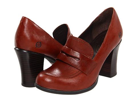 Pantofi Born - Gail - Rust Leather