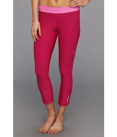 Pantaloni Nike - Relay Crop - Bright Magenta/Red Violet/Matte Silver