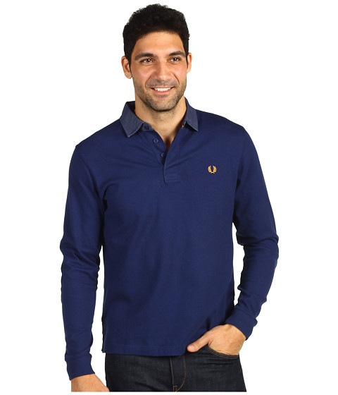Tricouri Fred Perry - Oxford Collar Rugby Shirt - French Navy