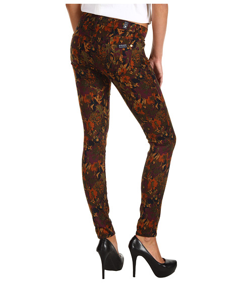 Pantaloni 7 For All Mankind - The Skinny in Wildflower Print - Wildflower Print