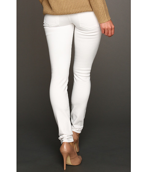 Blugi 7 For All Mankind - The Skinny Slim Illusion - Stark White