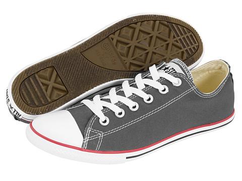 Adidasi Converse - Chuck Taylorî All Starî Slim Ox - Charcoal
