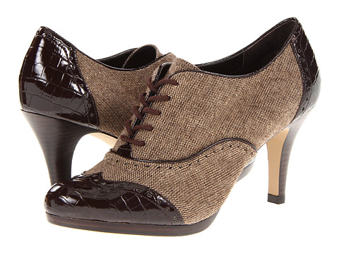 Pantofi Anne Klein - Werner - Bronze Natural Multi/Dark Brown