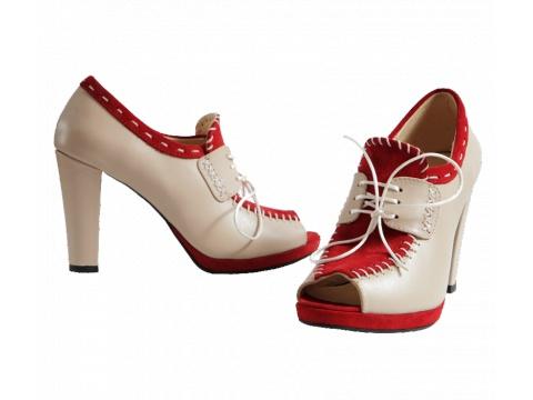 Pantofi Hotstepper - Pantofi Monaco RoyaleNude - Nude