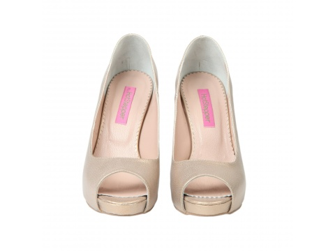 Pantofi Hotstepper - Pantofi Sunberry Pink Sugar 2 - Nude