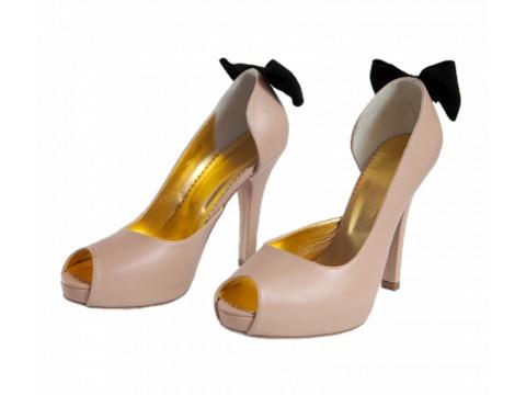 Pantofi Hotstepper - Pantofi SunBerry Liberian Coffe - Nude