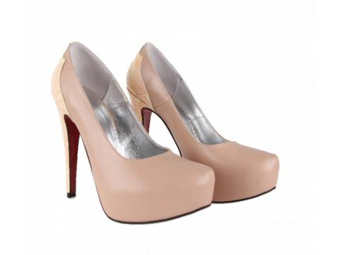 Pantofi Hotstepper - Pantofi Magnetic Chou Roses - Nude