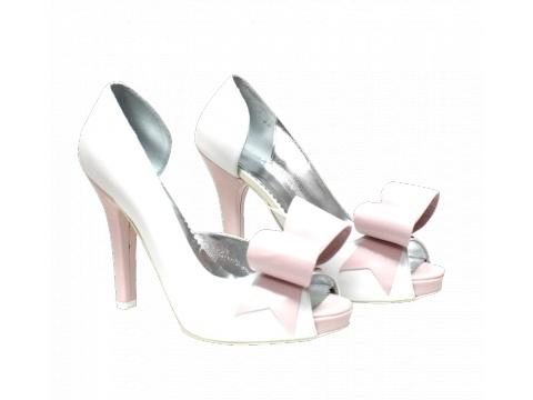 Pantofi Hotstepper - Pantofi SunBerry Daisy - Alb