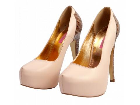 Pantofi Hotstepper - Pantof Magnetic Chou Nude 4 - Nude