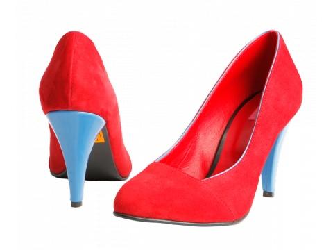 Pantofi Hotstepper - Pantofi Republic Victory - Rosu