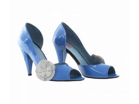 Pantofi Hotstepper - Pantofi Carry Crazy Blue - Albastru