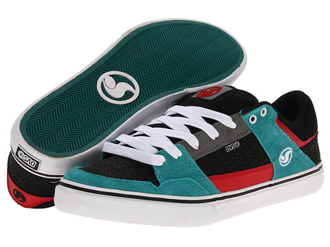 Adidasi DVS Shoe Company - Ignition CT - Black/Teal Suede FA 13